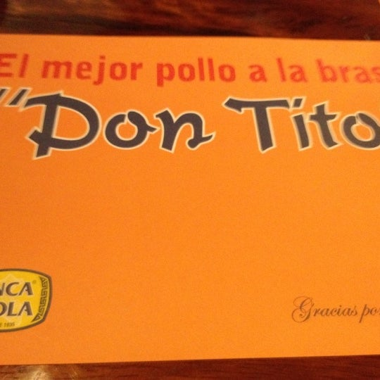 Photo taken at Don Tito by Alcida H. on 3/28/2012