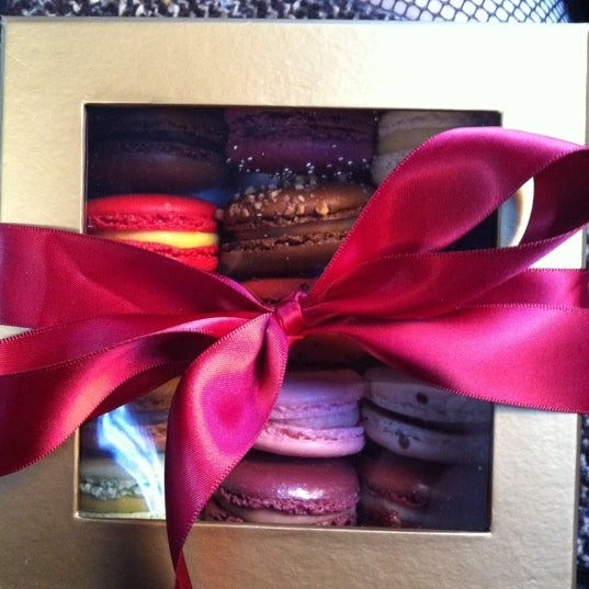 Photo taken at La Maison du Macaron by Michelle M. on 12/24/2011