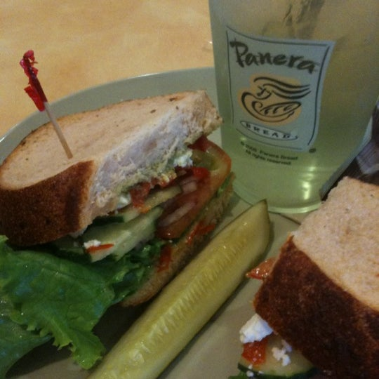 Photo taken at Panera Bread by Basti B. on 6/28/2011