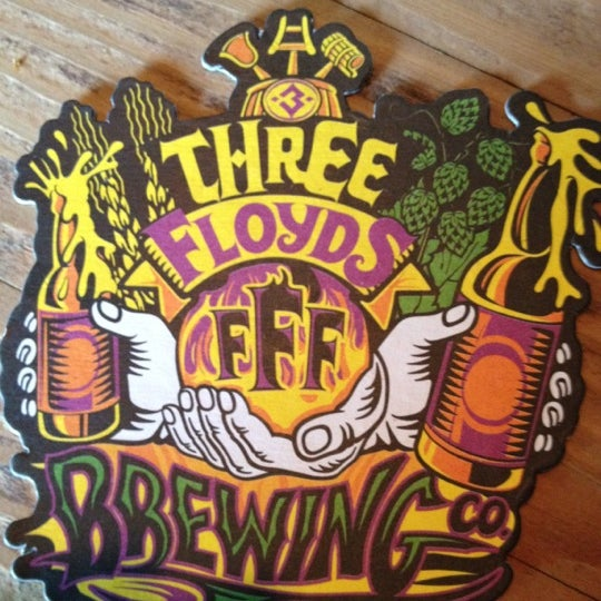 Photo taken at Three Floyds Brewery & Pub by Ellen S. on 6/30/2012