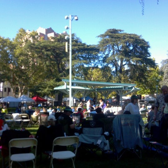 Photo taken at Todos Santos Plaza by Demagh mak on 6/29/2012