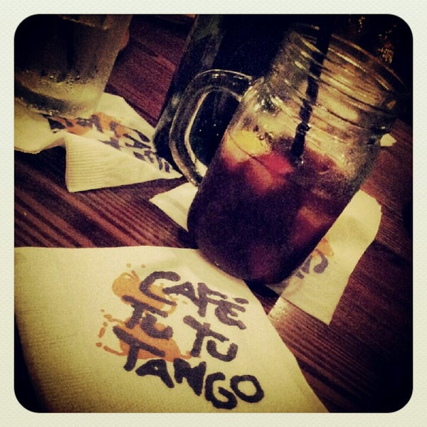 Photo taken at Café Tu Tu Tango by Dave on 8/3/2012