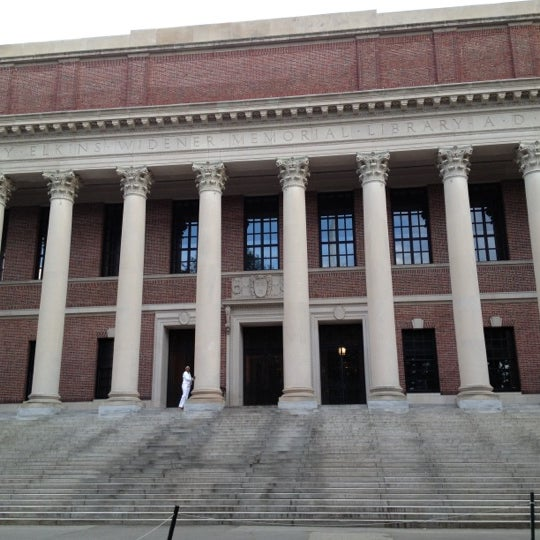 Photo taken at Widener Library by Timur Z. on 7/8/2012
