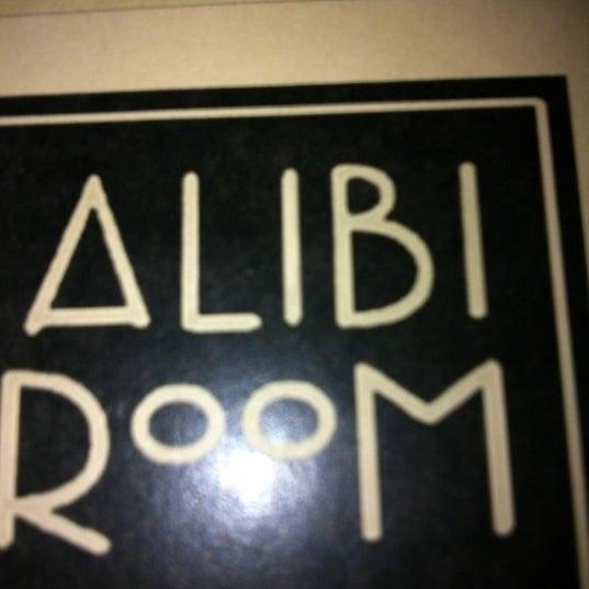Photo taken at Alibi Room by Matt B. on 6/10/2012
