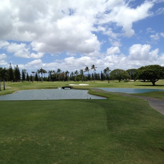 Photo taken at Navy Marine Golf Course by Del G. on 7/9/2012