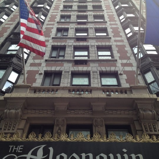 Photo taken at Algonquin Hotel Times Square, Autograph Collection by Ryan D. on 6/5/2012