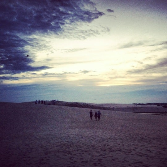Photo taken at Jockey's Ridge State Park by Alison R. on 8/23/2012