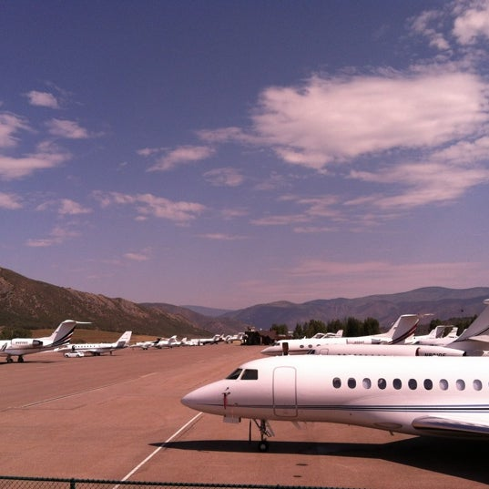 Photo taken at Aspen/Pitkin County Airport (ASE) by Paul R. on 7/5/2012