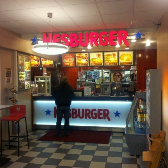 Photo taken at Hesburger - Rīga by Janis K. on 11/22/2011