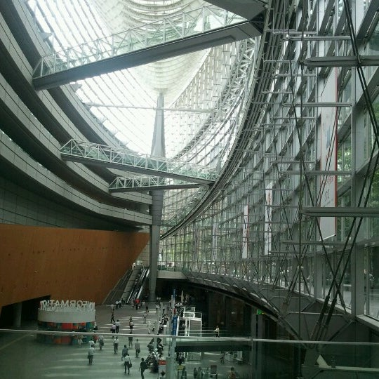 Photo taken at 東京国際フォーラム ガラス棟 by stp2020 on 8/29/2012