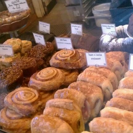 Photo taken at Crema Bakery and Cafe by EJ C. on 1/16/2012