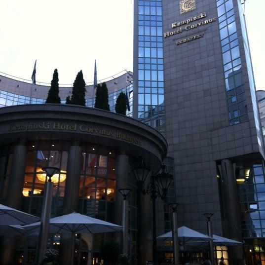 Photo taken at Kempinski Hotel Corvinus Budapest by Sanjar R. on 5/25/2012