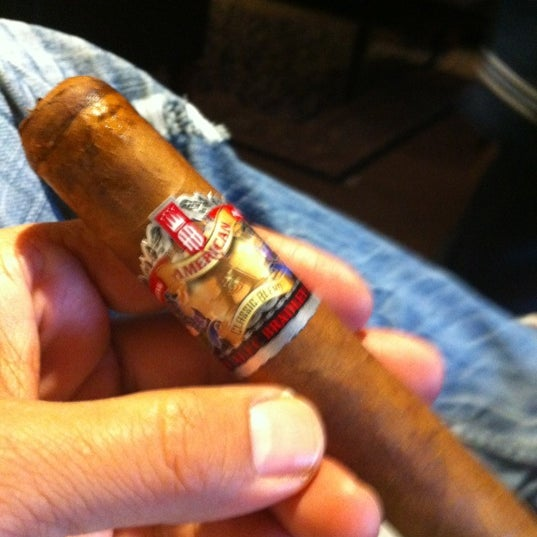Photo taken at The Cigar Boxx by Jake O. on 5/2/2012