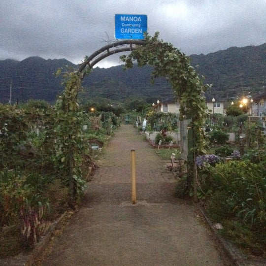 Photo taken at Manoa Gardens by Ethan E. on 6/5/2012