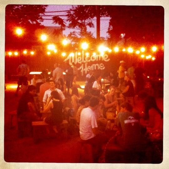 Photo taken at Lustre Pearl Bar by Caroline B. on 7/4/2011