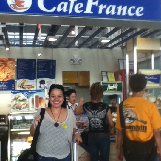 Photo taken at Cafe France by Hunny N. on 7/1/2012