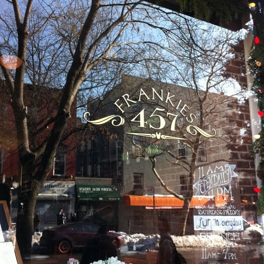 Photo taken at Frankies 457 by Oz L. on 1/1/2011