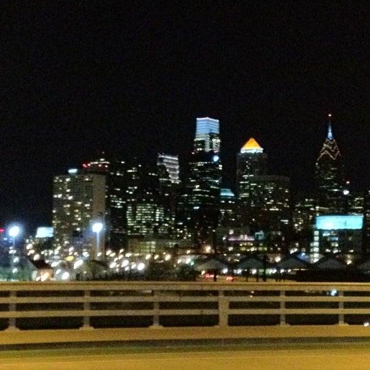 Photo taken at South Street Bridge by Neil M. on 4/13/2012