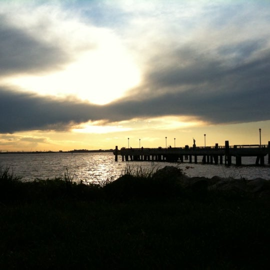 Photo taken at Louis Valentino, Jr. Park & Pier by Patrick on 5/7/2011