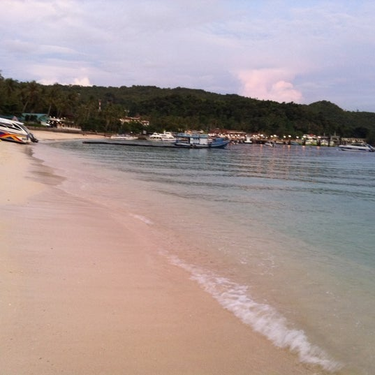 Photo taken at Phi Phi Island by Saranyoo S. on 11/12/2011