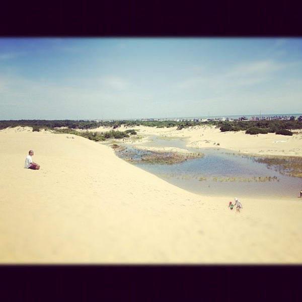 Photo taken at Jockey's Ridge State Park by Mark V. on 6/18/2012