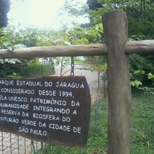 Photo taken at Parque Estadual do Jaraguá by Durval Carvalho d. on 11/27/2011