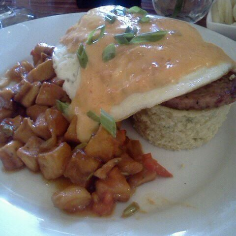 Photo taken at Atchafalaya Restaurant by Kristy M. on 11/5/2011