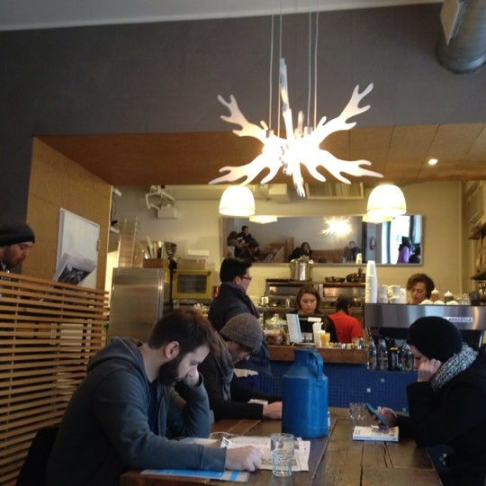 Photo taken at Milk Bar by Sidra K. on 1/6/2012