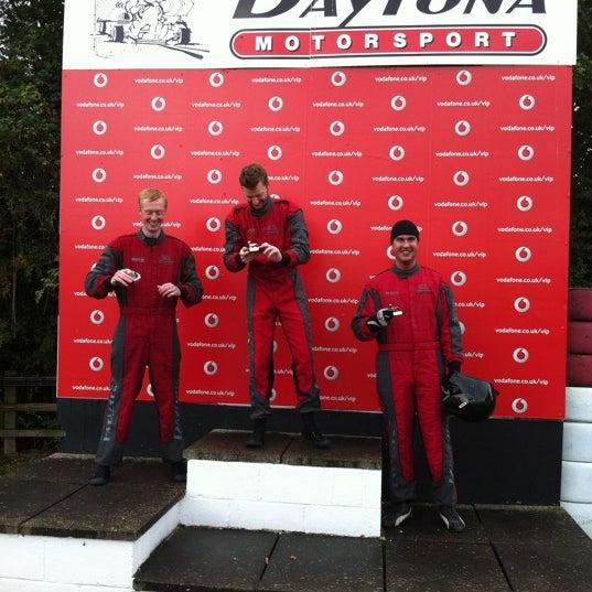 Photo taken at Daytona Karting Circuit by Hannah P. on 8/28/2011