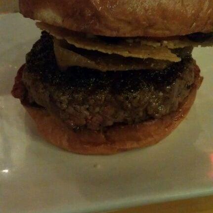 Photo taken at Umami Burger by Mako Y. on 9/21/2011