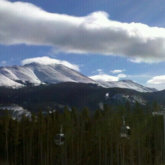 Photo taken at Breckenridge Ski Resort by Jessica S. on 1/15/2011