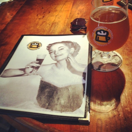 Photo taken at Portsmouth Brewery by Jeff P. on 8/26/2012