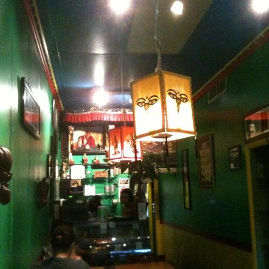 Photo taken at Cafe Tibet by Matt K. on 7/1/2012