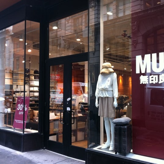 Muji Paper Office Supplies Store In New York