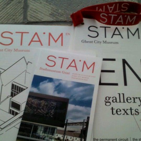 Photo taken at Stadsmuseum Gent | STAM by Maria M. on 3/9/2012