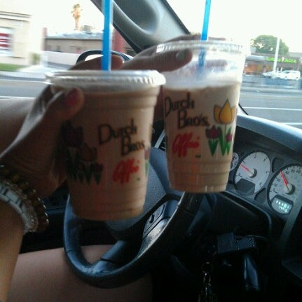 Photo taken at Dutch Bros. Coffee by Justeen B. on 8/6/2012