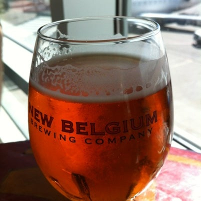 Photo taken at New Belgium Brewing Hub by Carrie R. on 9/2/2012