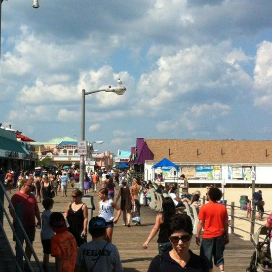 Photo taken at Point Pleasant Beach Boardwalk by Nelson G. on 8/16/2012