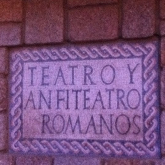 Photo taken at Anfiteatro Romano by Barbara A. on 4/20/2011