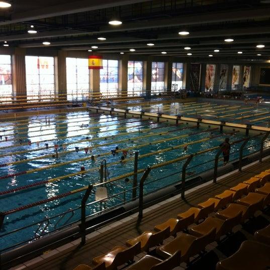 Centro de nataci n mundial 86 piscina en estrella for Piscina 86 mundial madrid