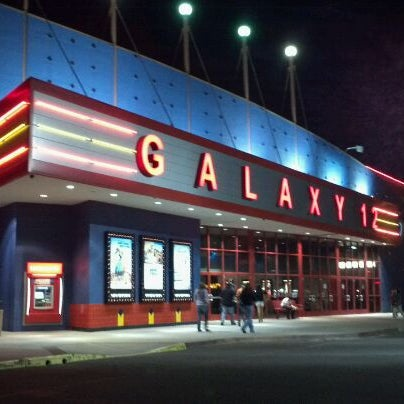 Galaxy riverbank theatres movie theater for Riverbank theater