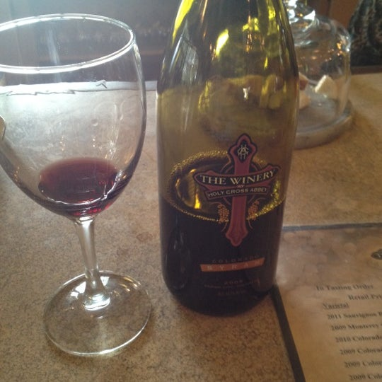 Photo taken at The Winery at Holy Cross Abbey by Rich C. on 7/14/2012