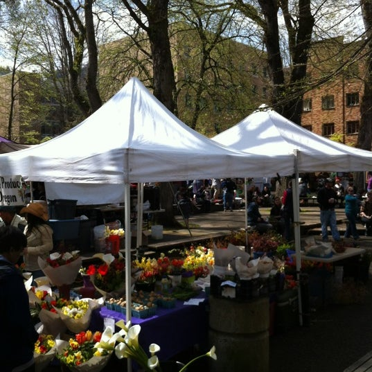 Photo taken at Portland Farmer's Market at PSU by Steve K. on 4/14/2012