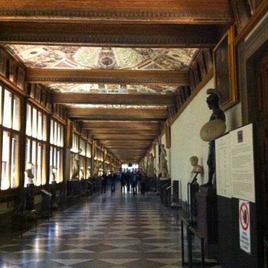 Photo taken at Uffizi Gallery by Christina R. on 11/17/2011