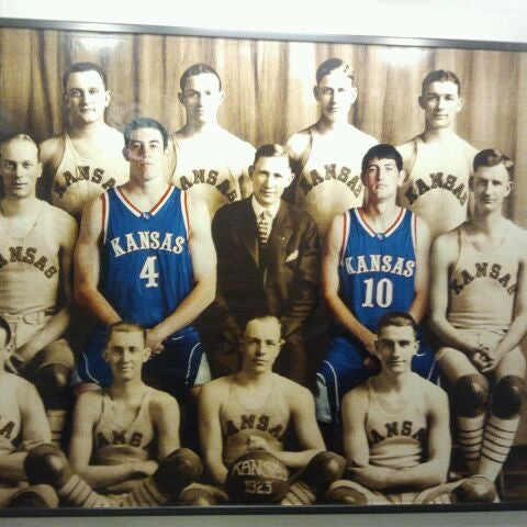 Photo taken at Allen Fieldhouse by Brandee S. on 2/19/2012