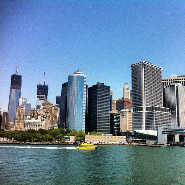 Photo taken at Staten Island Ferry Boat - Guy V. Molinari by Zahid Z. on 7/22/2012