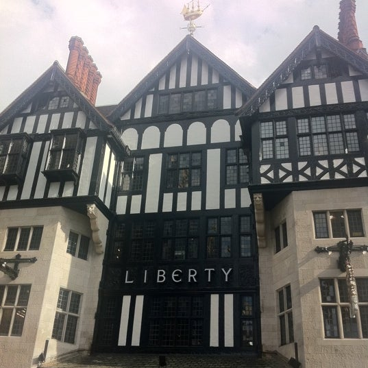 Photo taken at Liberty of London by Joanne L. on 8/14/2011