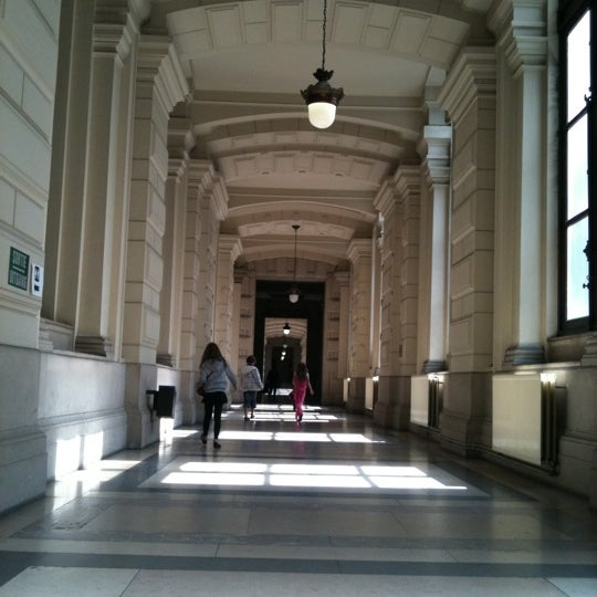 Photo taken at Justitiepaleis / Palais de Justice by Willy C. on 8/8/2011