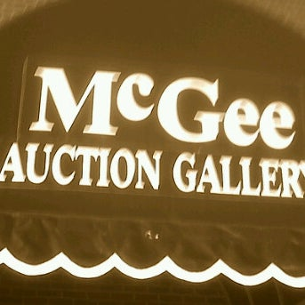 Photo taken at McGee Auction Gallery by Candace N. on 3/1/2012