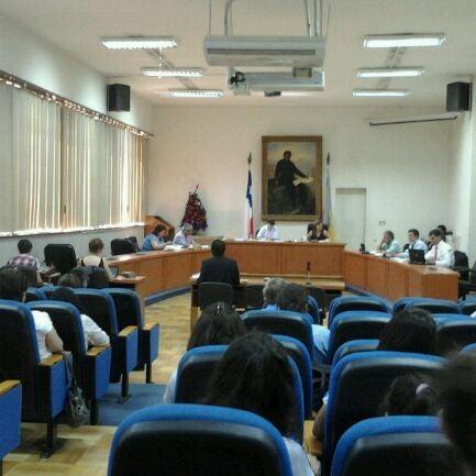 Photo taken at Municipalidad de San Bernardo by Ilustre Municipalidad S. on 1/5/2012